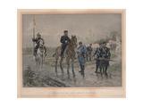 Communication Aux Avant-Postes, 1881 Giclee Print by Alphonse Marie de Neuville