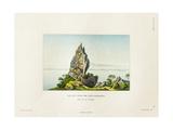 View of a Peak on the Island of Bora Bora Giclee Print by Ambroise Tardieu