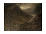 Wasdale Head from Styhead Pass, Cumbria, C.1854 Giclee Print by Alfred William Hunt