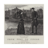 From Post to Finish, a Racing Romance Giclee Print by Arthur Hopkins