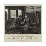First Person Singular Gicléetryck av Hopkins, Arthur