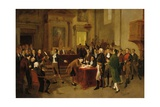 Signing of the Declaration of Independence Giclee Print by Arturo Michelena
