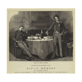 Kit, a Memory Gicléetryck av Hopkins, Arthur