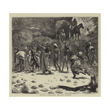 North American Indian Sports Giclee Print by Arthur Boyd Houghton