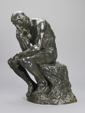 The Thinker Gicléetryck av Auguste Rodin