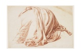 Drapery Study, 1711 Giclee Print by Bernard Picart