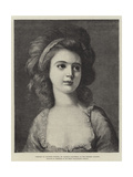 Portrait of Countess Potocka, in the Dresden Gallery Giclee Print by Angelica Kauffmann