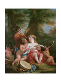 Music Giclee Print by Angelica Kauffmann