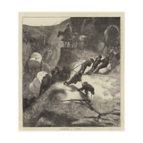 Sketches in the Far West Giclee Print by Arthur Boyd Houghton
