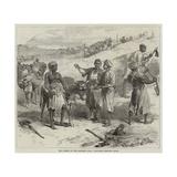 The Isthmus of Suez Maritime Canal, Labourers Removing Earth Gicléetryck av Hopkins, Arthur