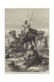 Persian Sketches, Pilgrims with their Dead Going to the Shrines of Kerbala and Meshid Ali Giclee Print by Arthur Hopkins