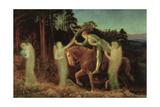 Sir Galahad, 1867-1892 Giclee Print by Arthur Hughes