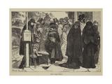 New York Veils Giclee Print by Arthur Boyd Houghton