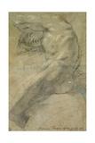 Study of a Nude Man Giclée-tryk af Annibale Carracci
