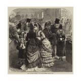 Show of Spring Flowers in the Botanic Gardens, Regent's Park Giclee Print by Arthur Hopkins