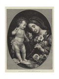 Virgin and Child Giclée-tryk af Carlo Dolci