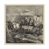 A Mormon Family on their Way to Salt Lake City Giclee Print by Arthur Boyd Houghton