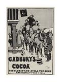 Advertisement, Cadbury's Cocoa Giclée-Druck von Cecil Aldin