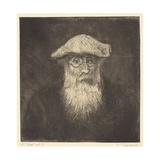Self-Portrait, C.1890 Reproduction procédé giclée par Camille Pissarro