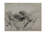 Nanterre, C. 1860 Reproduction procédé giclée par Camille Pissarro