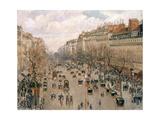 Boulevard Montmartre, Afternoon Sun, 1897 Stampa giclée di Camille Pissarro