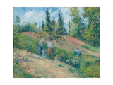 The Harvest, Pontoise, 1880 Reproduction procédé giclée par Camille Pissarro