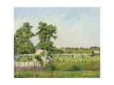 Cricket Match at Bedford Park, London, 1897 Reproduction procédé giclée par Camille Pissarro