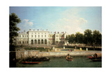 Old Somerset House from the River Thames, London Impressão giclée por  Canaletto