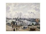 Le Quai De Southampton Au Havre, 1903 Reproduction procédé giclée par Camille Pissarro