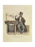 The Gingerbread Seller Giclée-Druck von Antoine Charles Horace Vernet