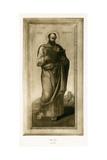 Male Saint, Perhaps St. Mark, C.1490 Giclée-Druck von Bartolomeo Vivarini