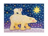Polar-Back Ride, 1996 Giclee Print by Cathy Baxter