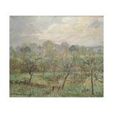 Autumn, Morning Mist, Éragny-Sur-Epte, 1902 Reproduction procédé giclée par Camille Pissarro