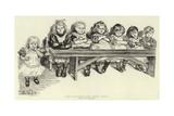 Free Education, the Babies' Bench Giclee-trykk av Charles Paul Renouard