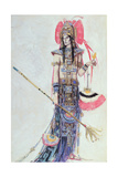 Costume Design for 'Montezuma', from the Operetta by Cecil Lewis on Paper) Giclee Print by Charles Ricketts