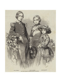 The Royal Children of Belgium Giclee Print by Charles Baugniet