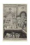 The Royal Academy, the Hurly Burly Giclee Print by Charles Paul Renouard