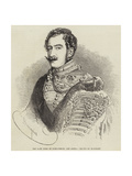 The Late Duke of Saxe-Coburg and Gotha Giclee Print by Charles Baugniet