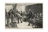 The Opening of the Royal Academy Giclee-trykk av Charles Paul Renouard