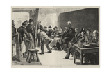The Opening of the Royal Academy Giclee Print by Charles Paul Renouard
