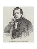 Mr B Webster Giclee Print by Charles Baugniet