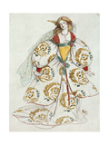 Costume Design Giclee Print by Charles Ricketts