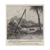 With the Advance Guard of the Nile Expedition Giclee Print by Charles Joseph Staniland