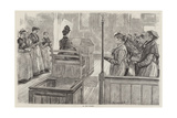 Female Convict Life at Woking Giclee-trykk av Charles Paul Renouard