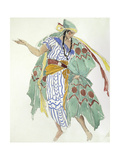 Costume Design for a Dancer Giclee Print by Charles Ricketts