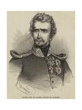 Ludwig, King of Bavaria Giclee Print by Charles Baugniet