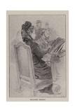 Madame Henry Giclee-trykk av Charles Paul Renouard