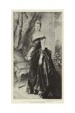 H I M Augusta Victoria, German Empress Giclee Print by Conrad Kiesel