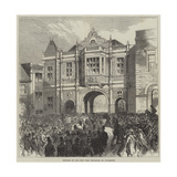 Opening of the New Corn Exchange at Aylesbury Giclee Print by Charles Robinson