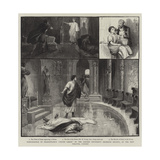 Performance of Shakespeare's Julius Caesar by the Oxford University Dramatic Society Giclee Print by Charles Joseph Staniland